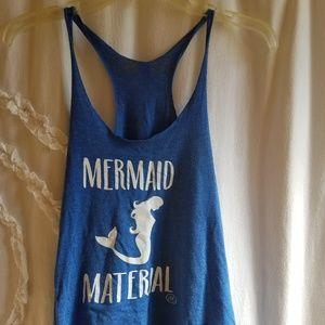 💙J. Elizabeth Blue Mermaid Tank Top💙🧜♀️